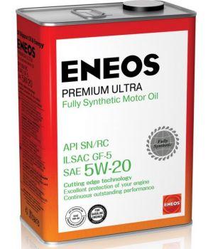 Моторное масло ENEOS Premium Ultra 5W-20, 4л