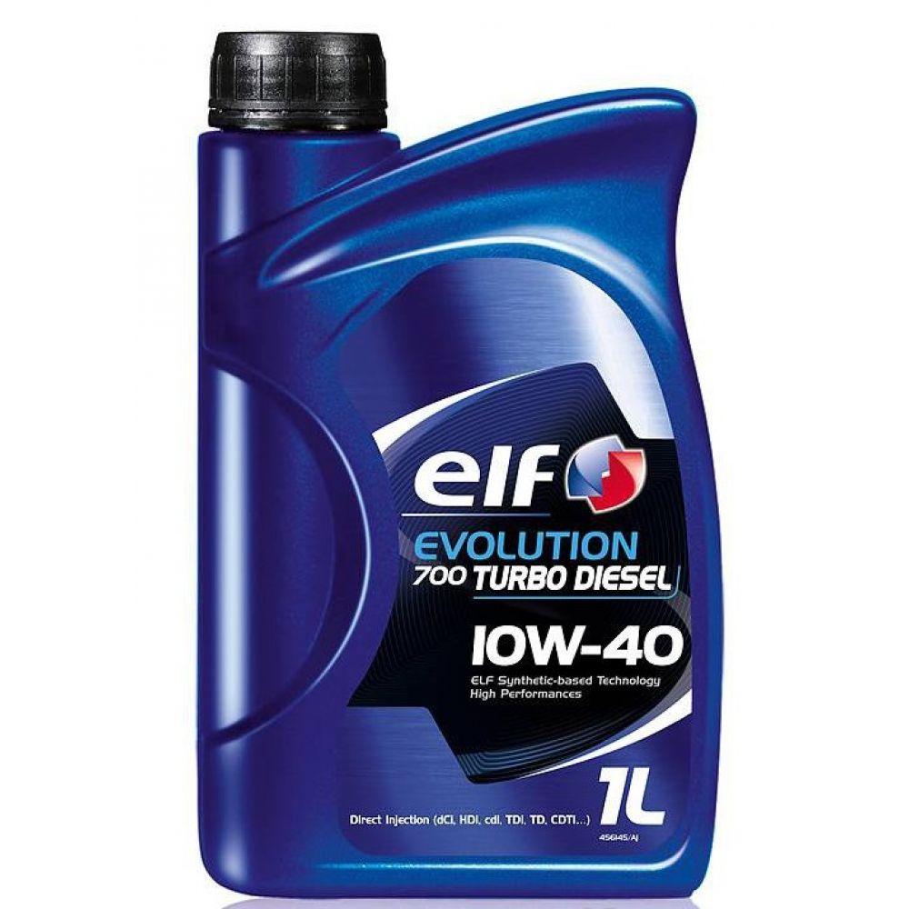 Моторное масло ELF Evolution 700 Turbo Diesel 10W-40, 1л
