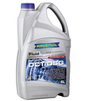 Трансмиссионное масло RAVENOL DCT/DSG Getriebe Fluid (4л) new