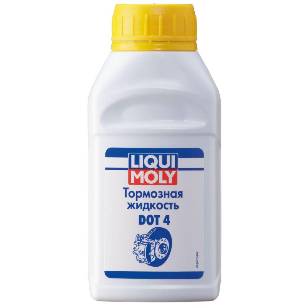 Тормозная жидкость LIQUI MOLY Bremsflussigkeit DOT 4, 0,25л