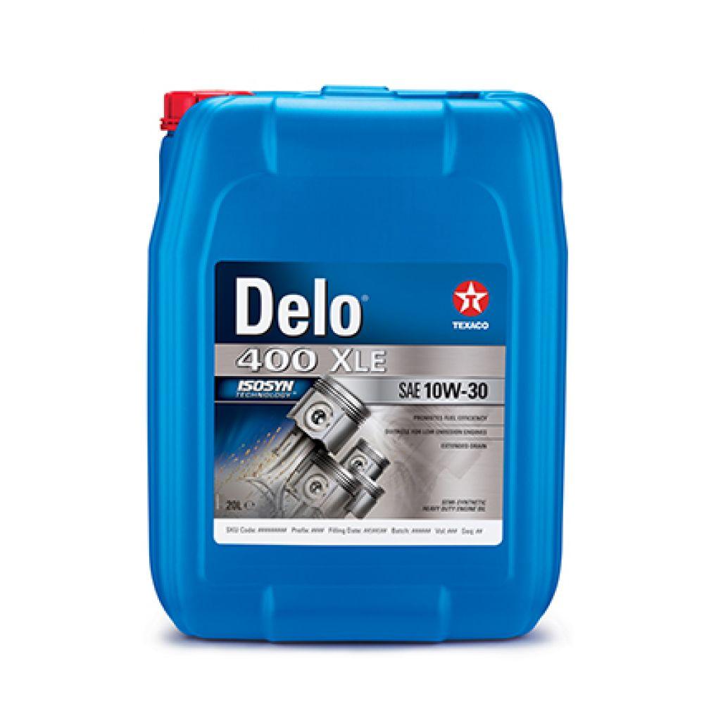 Моторное масло Texaco DELO 400 XLE 10W-30, 20л