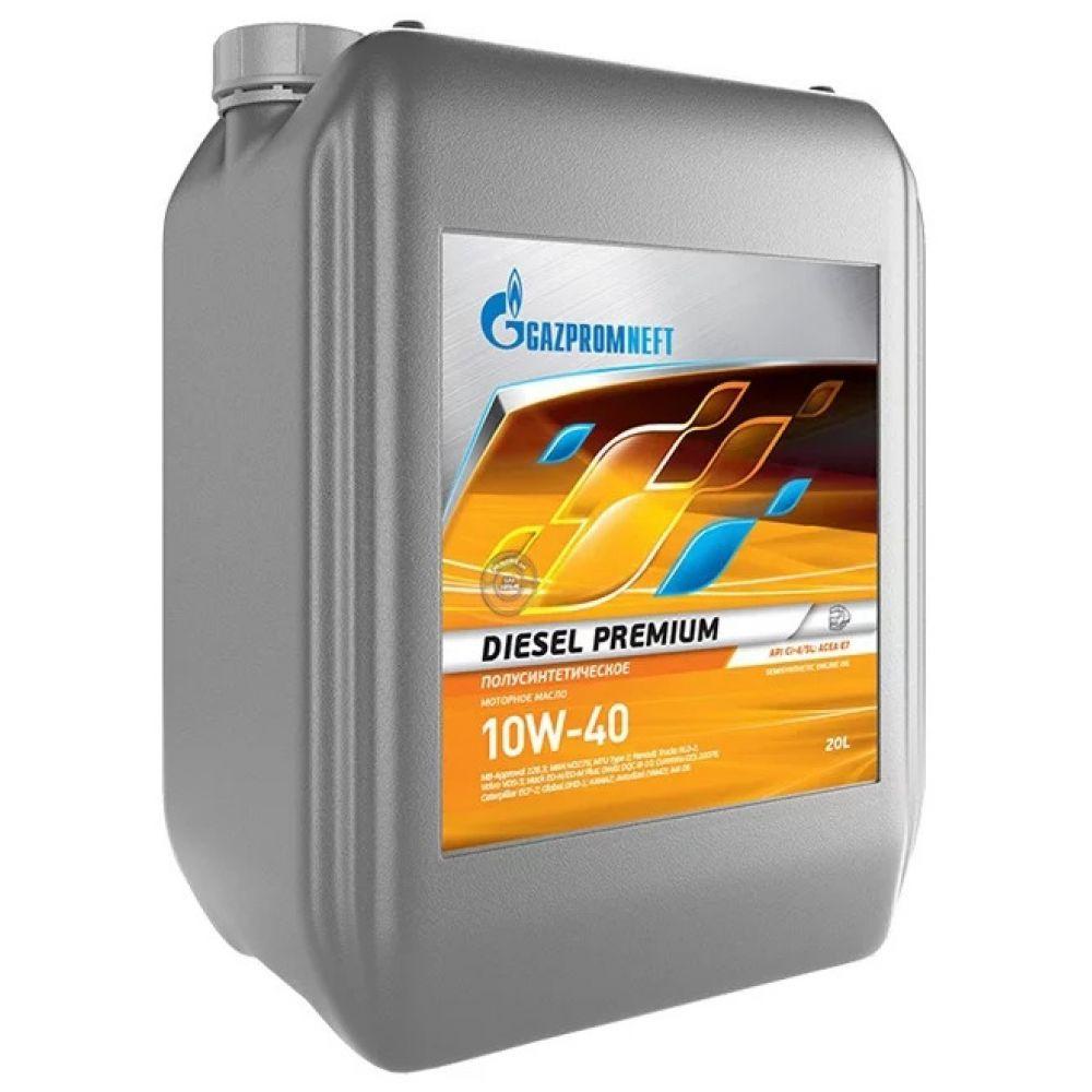Моторное масло Gazpromneft Diesel Premium 10W-40, 20л