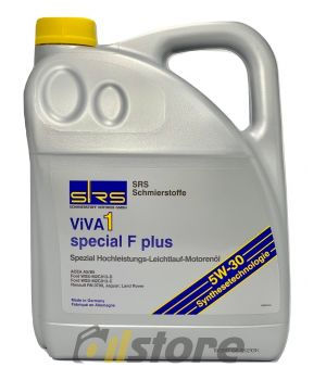 Моторное масло SRS VIVA 1 Special F Plus 5W-30, 5л