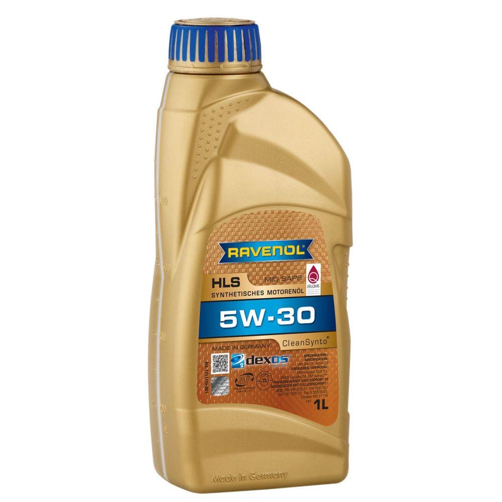 Моторное масло RAVENOL HLS SAE 5W-30 ( 1л) new