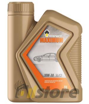 Моторное масло Роснефть Maximum 10W-30, 1л