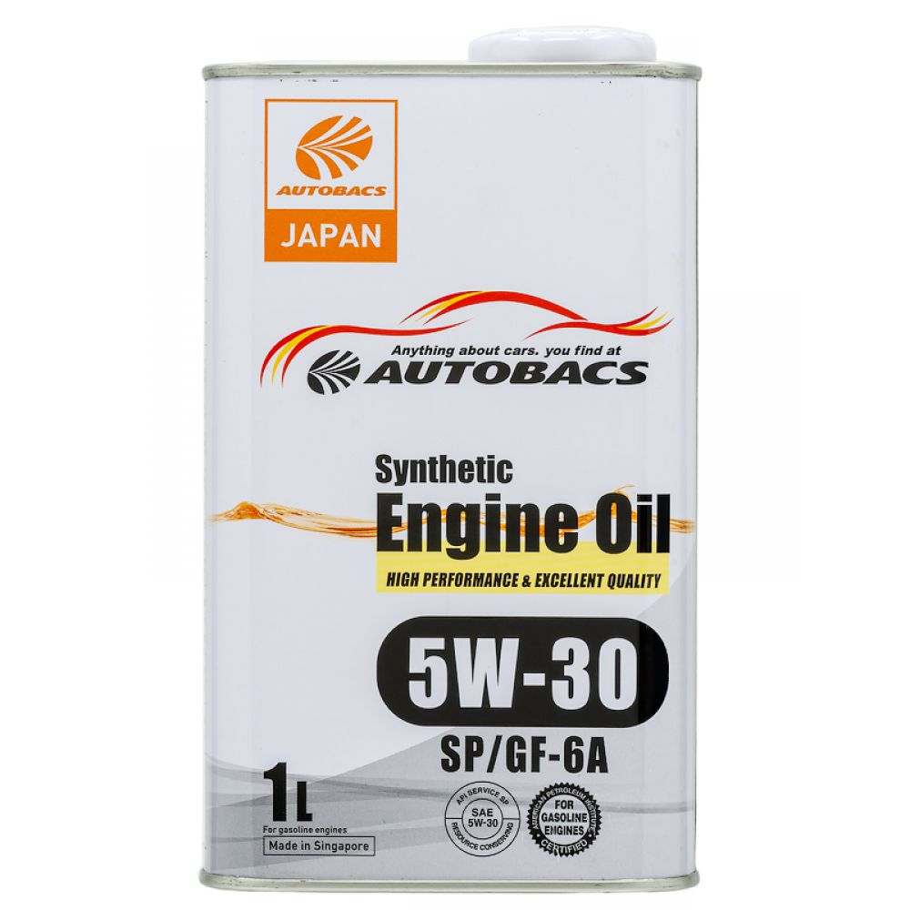 Моторное масло AUTOBACS Fully Synthetic 5W-30 SP/GF-6A, 1л
