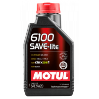 Моторное масло Motul 6100 SAVE-lite 5W-20, 1л