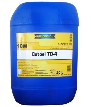 Трансмиссионное масло RAVENOL Catoel TO-4 SAE 10W (20 л)