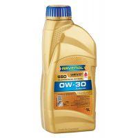 Моторное масло RAVENOL SSO SAE 0W-30, 1л