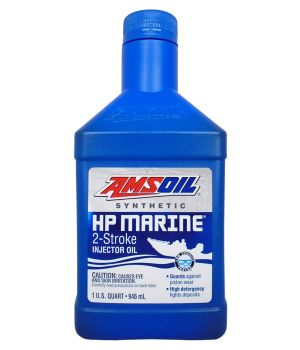 Моторное масло AMSOIL HP Marine Synthetic 2-Stroke Oil, 0,946 л.