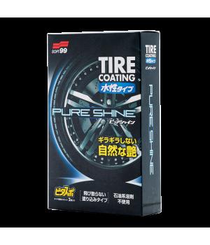 Покрытие для шин Soft99 Pure Shine, 100мл