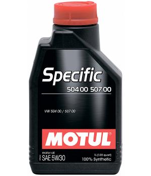 Моторное масло MOTUL Specific VW 504.00/507.00 5W-30, 1л
