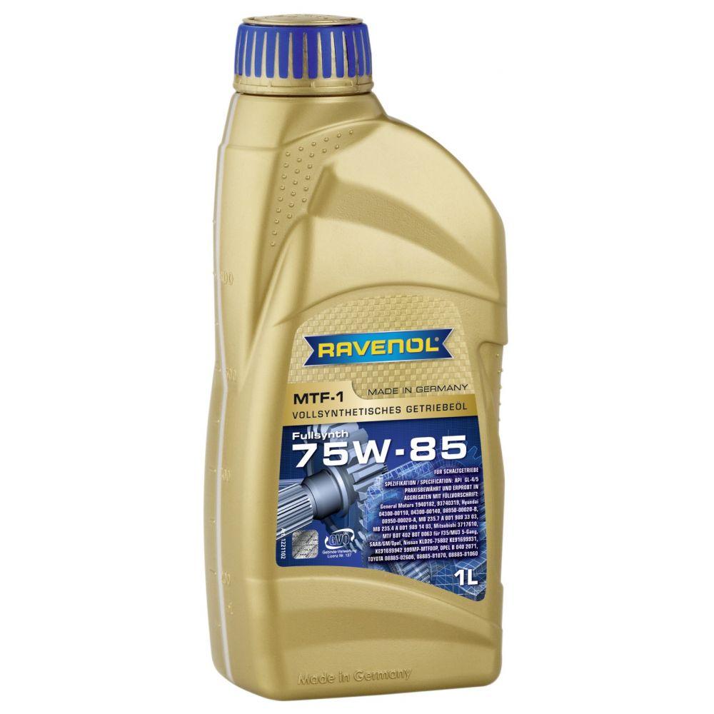 Трансмиссионное масло RAVENOL MTF -1 SAE 75W-85 ( 1л) new
