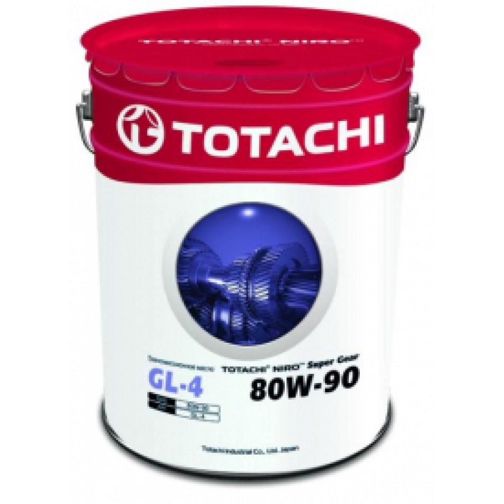 Трансмиссионное  масло TOTACHI NIRO Super Gear GL-4 80W-90, 19л