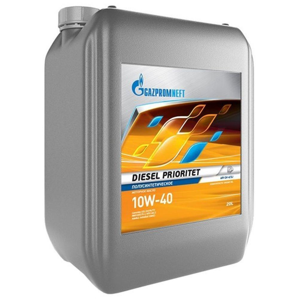 Моторное масло Gazpromneft Diesel Prioritet 10W-40, 20л