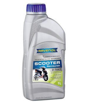 Моторное масло для 2-Такт скутеров RAVENOL Scooter 2-Takt Teilsynt (1л) new