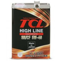 Моторное масло TCL High Line Fully Synth SN/CF 5W-40, 4л