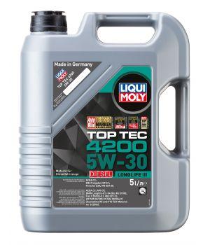 Моторное масло LIQUI MOLY НС Top Tec 4200 Diesel 5W-30, 5л