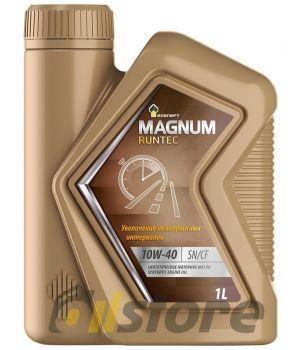 Моторное масло Роснефть Magnum Runtec 10W-40, 1л