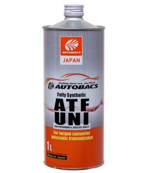 Трансмиссионное масло AUTOBACS ATF UNI Fully Synthetic, 1л