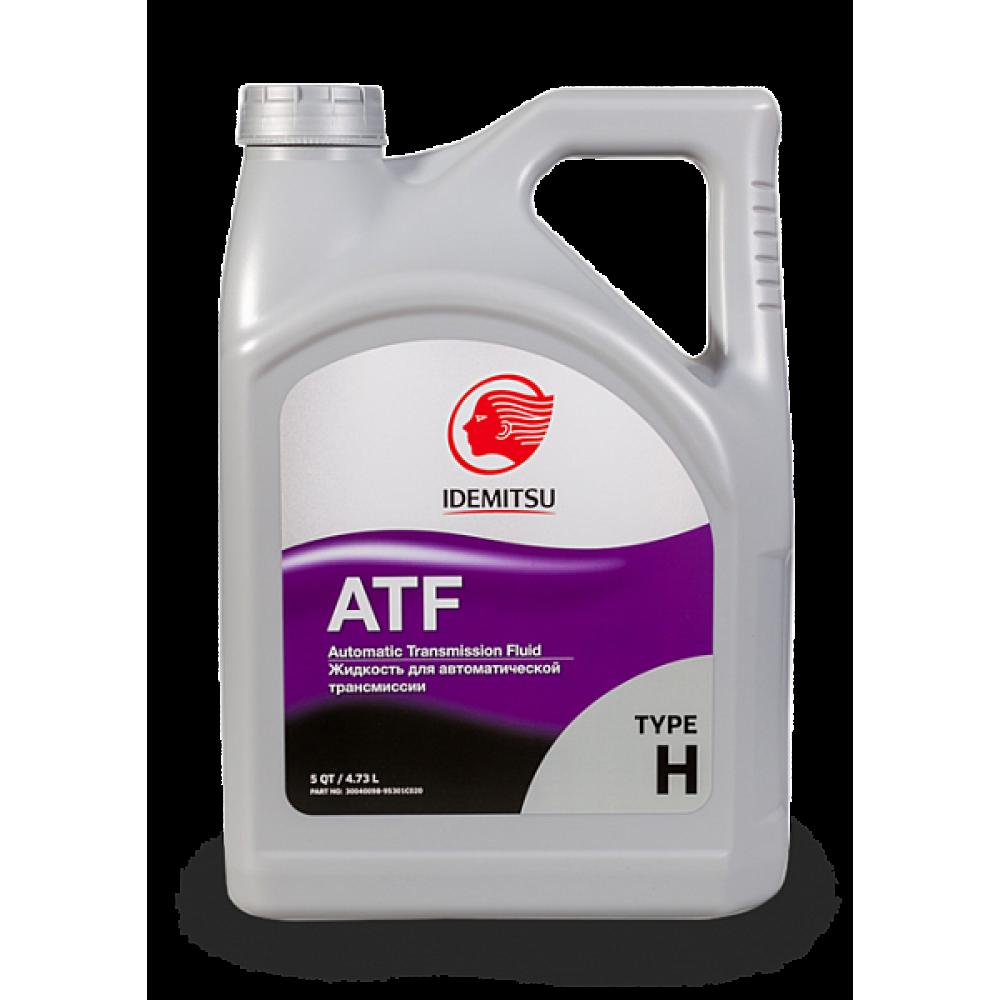 Трансмиссионное масло IDEMITSU ATF TYPE-H, 4,73л