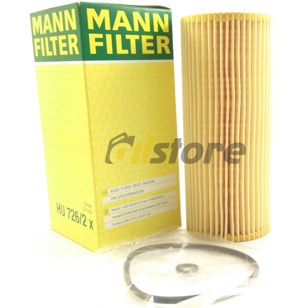 Масляный фильтр MANN-FILTER HU 726/2 X