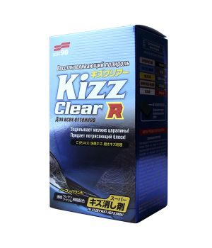 Полироль для кузова устранение царапин Soft99 Kizz Clear, 270мл