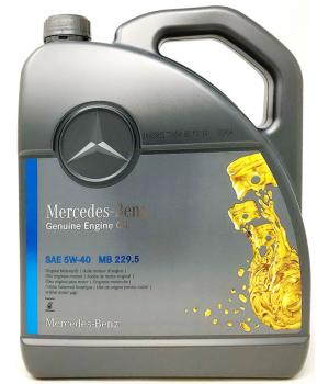 Моторное масло Mercedes-Benz MB 229.5 5W-40, 5л