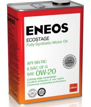 Моторные масла ENEOS Ecostage 0W-20, 4л.