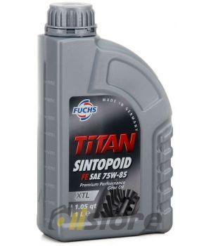 Трансмиссионное масло FUCHS Titan Sintopoid FE 75W-85, 1л