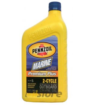 Моторное масло PENNZOIL Marine Premium Plus 2-Cycle, 0,946л