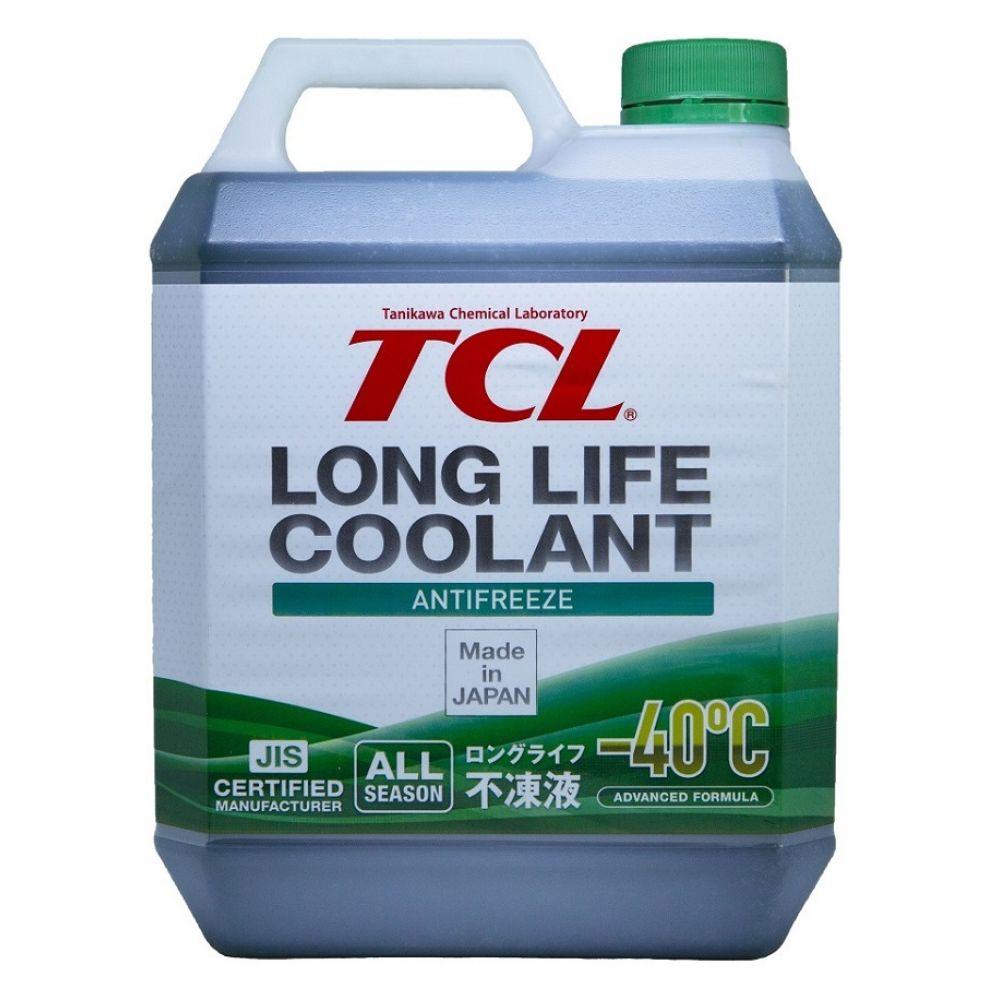 Антифриз TCL Long Life Coolant GREEN -40°C, 4л
