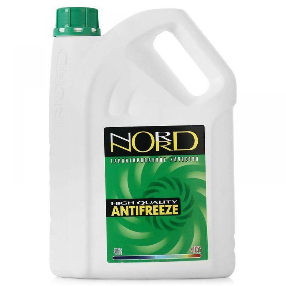 Антифриз готовый NORD зеленый, 3кг