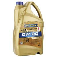 Моторное масло RAVENOL ECS EcoSynth SAE 0W-20, 4л