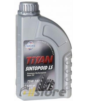 Трансмиссионное масло FUCHS Titan Sintopoid LS 75W-140, 1л