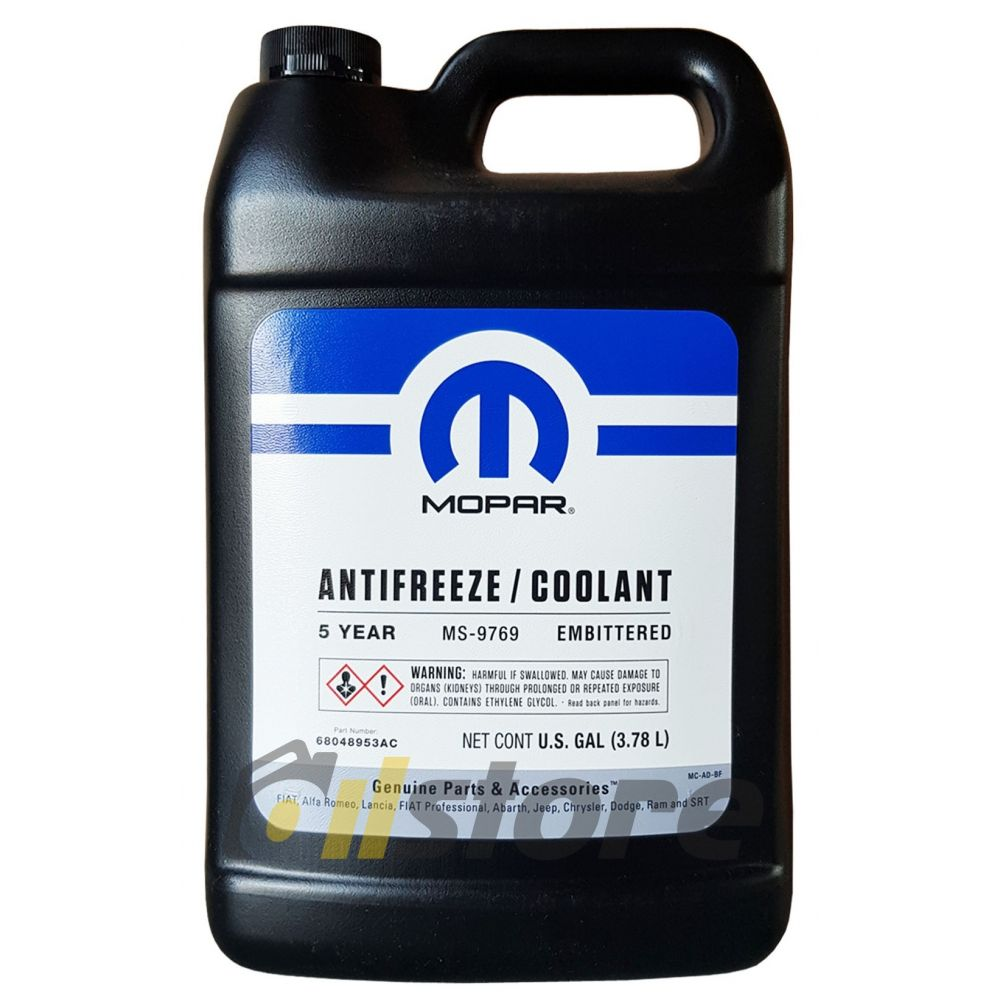 Антифриз концентрат красный MOPAR Antifreeze/Coolant 5-year/Embittered, 3.78л