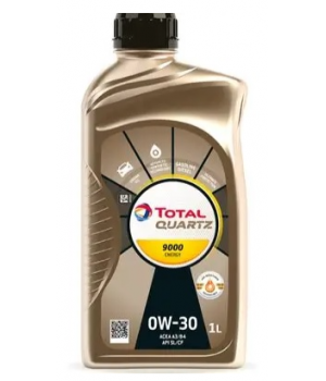 Моторное масло Total QUARTZ 9000 ENERGY 0W-30, 1л