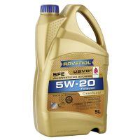 Моторное масло RAVENOL Super Fuel Economy SFE SAE 5W-20, 5л