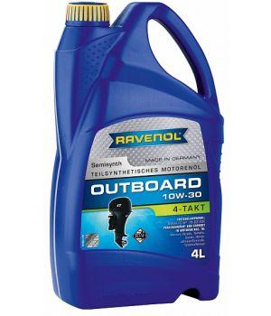 Моторное масло для 4-T лод.моторов RAVENOL Outboardoel 4T SAE 10W-30 (4л) new