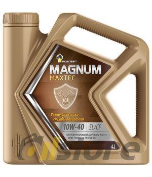 Моторное масло Роснефть Magnum Maxtec 10W-40, 4л