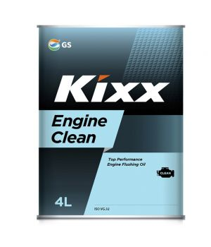 Промывочное масло Kixx Engine Clean, 4л