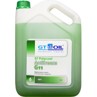 Антифриз готовый GT OIL GT PolarCool G11 зеленый, 5кг