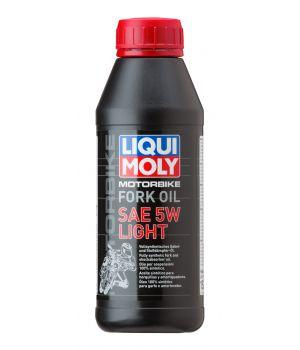 Масло для вилок и амортизаторов LIQUI MOLY Motorbike Fork Oil Light 5W, 0,5л