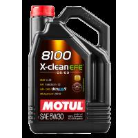 Моторное масло Motul 8100 X-clean EFE 5W-30, 5л