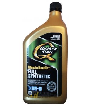 Моторное масло QUAKER STATE Ultimate Durability SAE 10W-30 (0,946л)