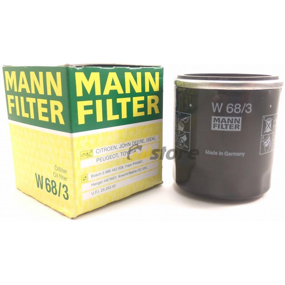 Масляный фильтр MANN-FILTER W 68/3