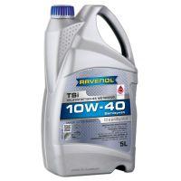 Моторное масло RAVENOL TSI SAE 10W-40 ( 5л) new