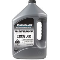 Моторное масло Quicksilver 4-Stroke Marine Engine Oil 10W-30, 3.78л