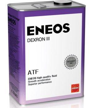 Трансмиссионное масло для АКПП ENEOS ATF DEXRON III, 4л