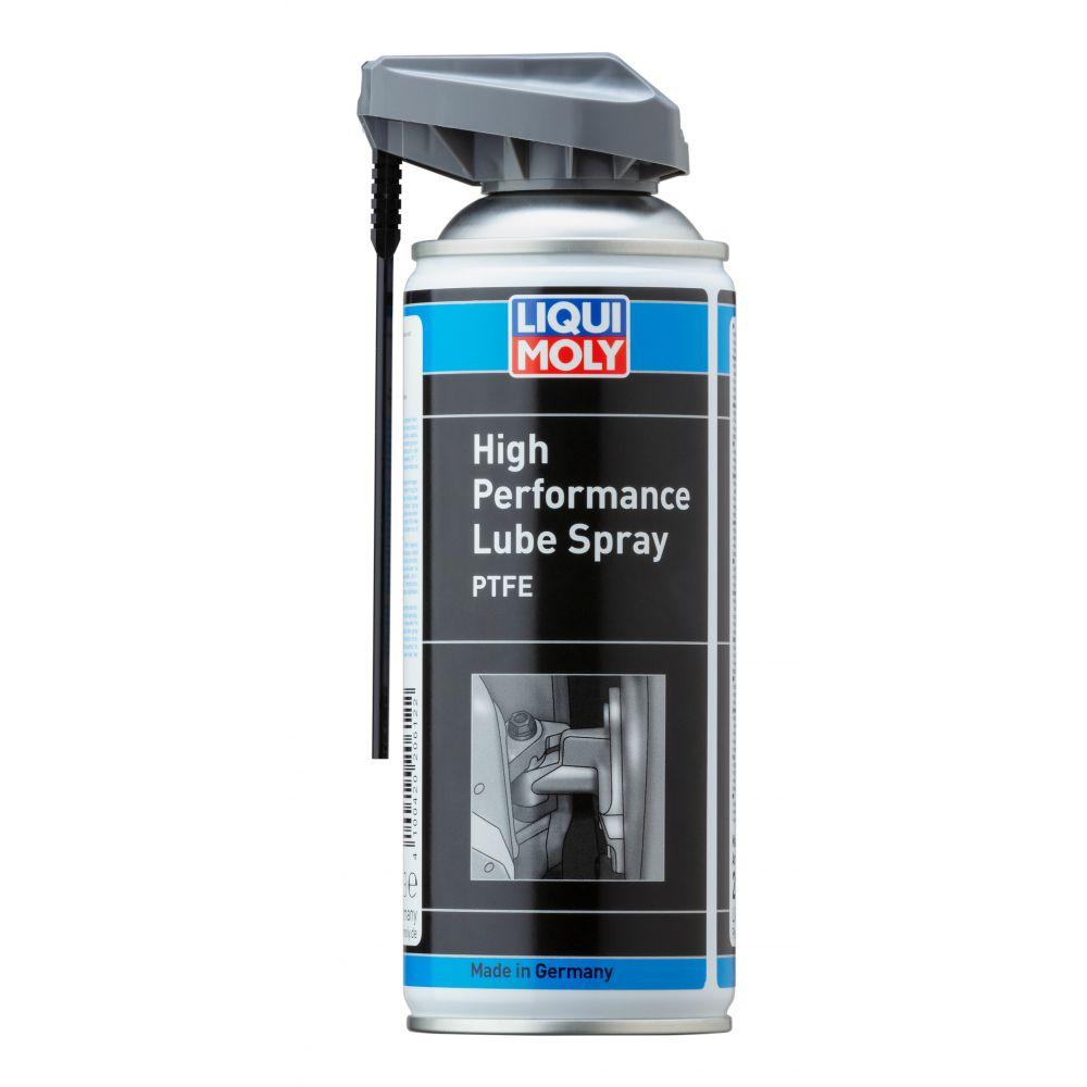 Высокоэффективная спрей-смазка с тефлоном LIQUI MOLY PTFE High Performance Lube Spray, 0,4л